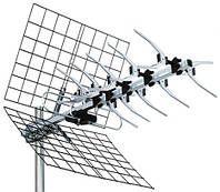 Внешняя антенна для эфирного цифрового телевидения стандарта DVB-T2 UHF-23EL