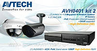 Комплект цифрового видеонаблюдения AVTech AVH0401KIT
