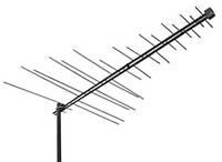 Внешняя антенна для эфирного и цифрового телевидения Qsat EM-35 (разъем- F, алюминий)