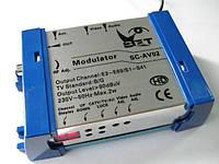 Телевизионный модулятор SET SC-AV02