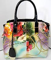Оригинальная женская сумка из натуральной кожи