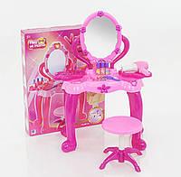 Детский туалетный столик с зеркалом и музыкальной подсветкой