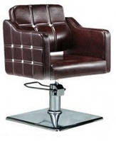 Кресло парикмахера на пневмоподъемнике HARRIS