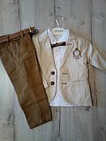 Детский нарядный костюм для мальчика 13430 Турция