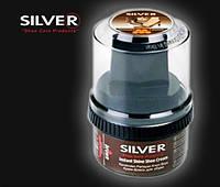 Крем для обуви в банке SILVER коричневый  50 мл (2506/1089)