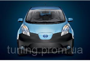 Защитная накладка на переднюю часть Nissan Leaf 2010-2017