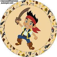 Джейк и пираты нетландии 12  Вафельная картинка