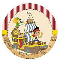 Джейк и пираты нетландии 17  Вафельная картинка