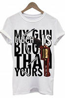 "Мужская футболка OPIUM-""MY GUN"""