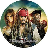 Джейк и пираты нетландии 20  Вафельная картинка