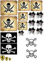 Джейк и пираты нетландии 24  Вафельная картинка