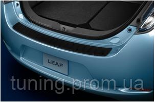 Защитная накладка заднего бампера Nissan Leaf 2011-2017