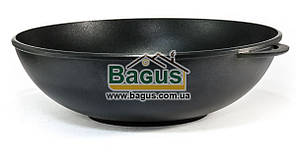 Сковорода WOK 5л 32см алюминиевая с антипригарным покрытием без крышки Биол (3203П)
