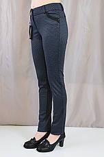 Стильные прямые брюки средней посадки , фото 2