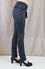 Стильные прямые брюки средней посадки , фото 3