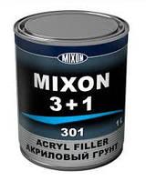 Акриловый грунт MIXON 3+1 серый 1л