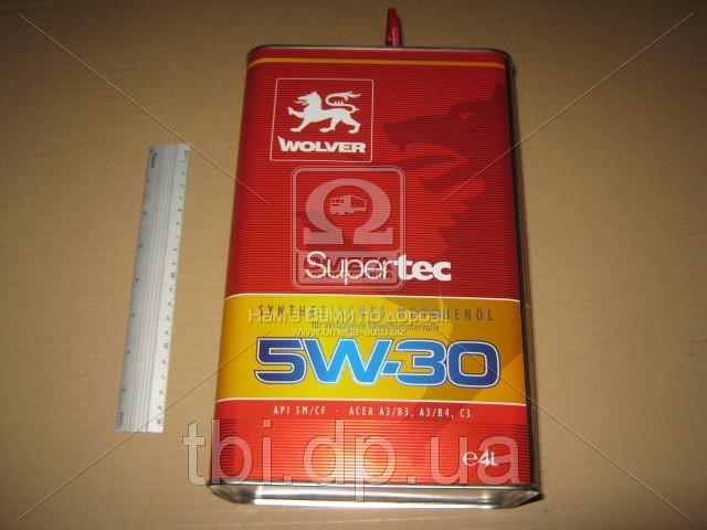 Масло моторное Wolver  Supertec SAE 5W-30 API SM/CF (Канистра 4л)