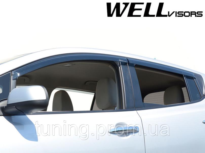 Дефлекторы окон Nissan Leaf 2011-2017