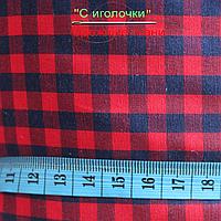 Рубашечная ткань клетка 6 мм