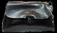 Стильная женская сумочка из натуральной кожи черного цвета GYR-070545, фото 1