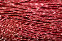 Шнур 2.5мм (100м) красный + золото
