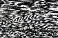 Шнур 3мм (100м) черный+белый