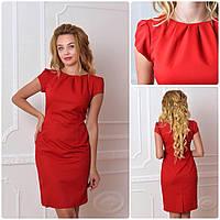 Платье модель 716, красный, фото 1