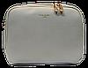 Классическая женская сумочка DAVID DJONES темно-бежевого цвета XRX-323255