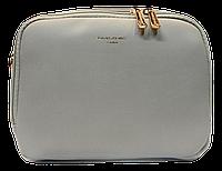 Классическая женская сумочка DAVID DJONES темно-бежевого цвета XRX-323255, фото 1