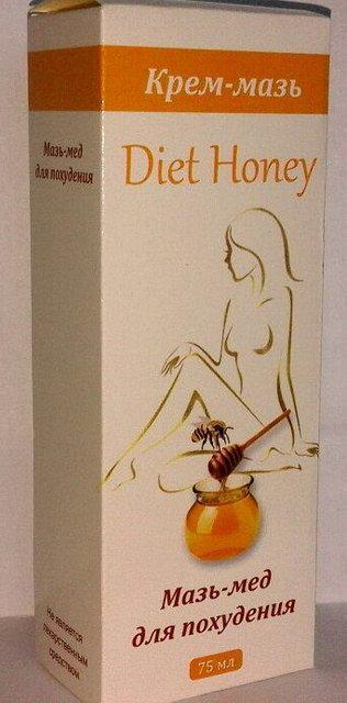 """Diet Honey - Мазь-мед для похудения (Диет Хани) - Интернет-магазин """"УкрФарм"""" - Официальный сайт в Украине оригинальных товаров для красоты и здоровья. в Киеве"""