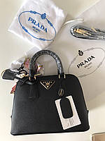 Элегантная сумка PRADA bag Saffiano mini черная
