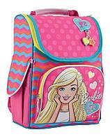 553275 Рюкзак каркасний H-11 Barbie rose, 34*26*14