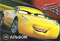 "Альбом для рисования МИЦАР ""Тачки-3"" 12л 630024"