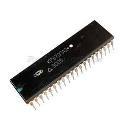 КР572ПА2А DIP40 12-разрядный умножающий цифро-аналоговый преобразователь с токовым выходом, с функцией записи