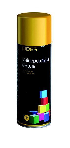 Аэрозольная универсальная краска LIDER 400мл