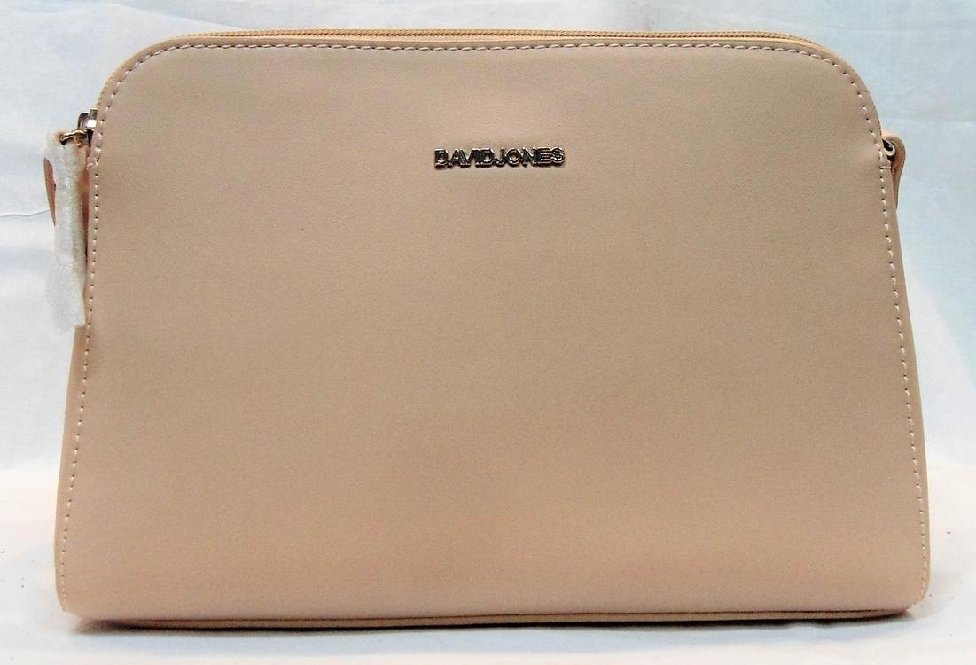 Аккуратная женская сумочка DAVID DJONES розового цвета TTY-000112, фото 1