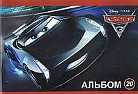 "Альбом для рисования МИЦАР ""Тачки-3"" 20л 630023"