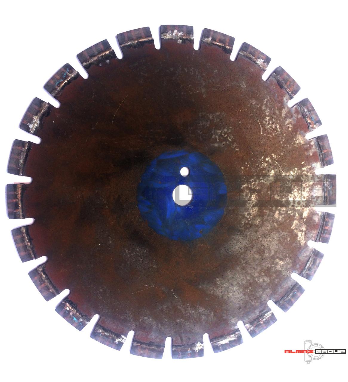 Реставрация алмазных дисков диаметров 400 мм