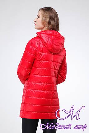 Женская осенняя куртка большого размера (р. 42-54) арт. Адамина, фото 2