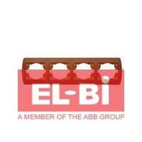 Рамка 4 поста вишня EL-BI Zirve Woodline 501-000601-228