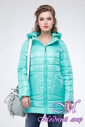 Женская демисезонная куртка большого размера (р. 42-54) арт. Адамина, фото 2