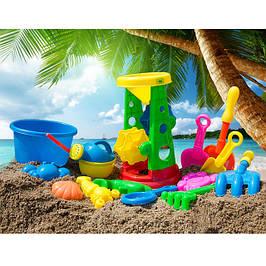 Детские игрушки для ванной и пляжа