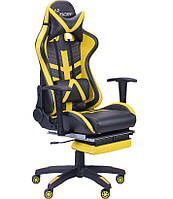 Кресло VR Racer BN-W0110A черный/желтый