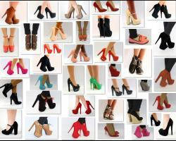 Женские туфли мода осень 2013 года