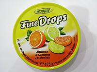 Конфеты Fine Drops со вкусом апельсина и лимона 200г.