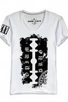 """Мужская футболка с V-образным воротом OPIUM-""""BLADE"""""""
