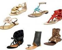 Стильные летние сандалии