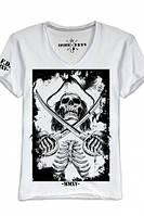 """Мужская футболка с V-образным воротом OPIUM-""""PIRATE"""""""