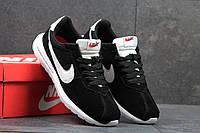 Мужские кроссовки Nike Fragment Design, замшевые, черно белые / кроссовки мужские Найк Фрагмент Дезайн, модные