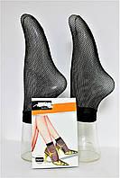 Носок капрон сетка черный №311 (уп. 6 шт.)